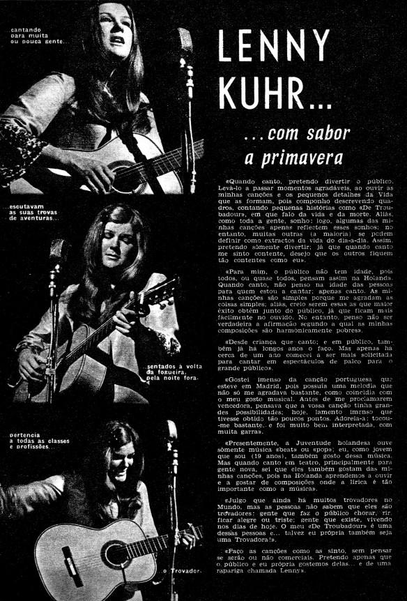 Plateia No. 434 Portugal 27 mei 1969