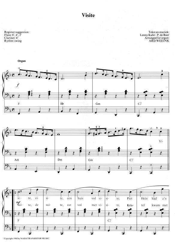 bladmuziek visite 1